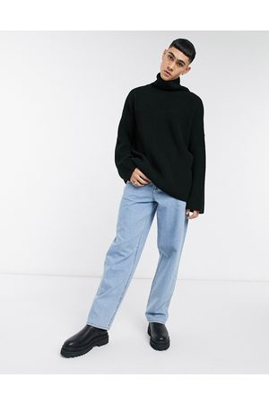 ASOS – Baggy-Jeans in heller Stone-Waschung