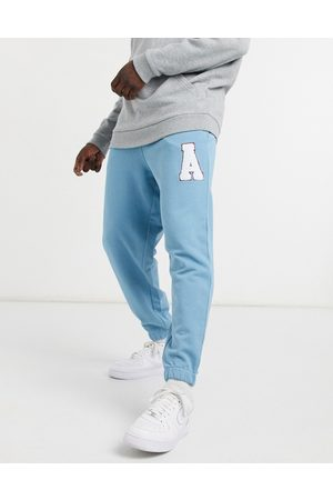 ASOS – Lockere Oversize-Jogginghose in mit Logo-Applikation, Kombiteil