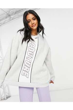 The Couture Club – Oversize-Sweatshirt in