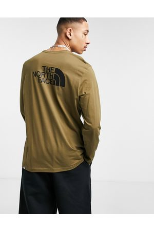 The North Face – Easy – Langärmliges Shirt in Khaki