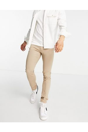 Jack & Jones Intelligence – Liam – Enge Jeans in Beige