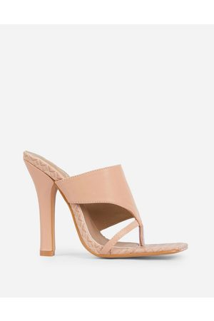 Ego X Molly-Mae – Captivating – Mules in mit Absatz-Neutral