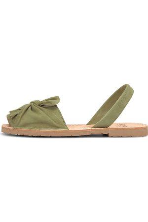 RIA Damen Sandalen - Riemchensandale Sandale in khaki, Sandalen für Damen