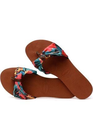 Havaianas Damen Flip Flops - »YOU SAINT TROPEZ« Zehentrenner mit sommerlichen Prints
