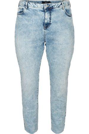 Zizzi Mom-Jeans Große Größen Damen Mom Fit Jeans aus Baumwolle