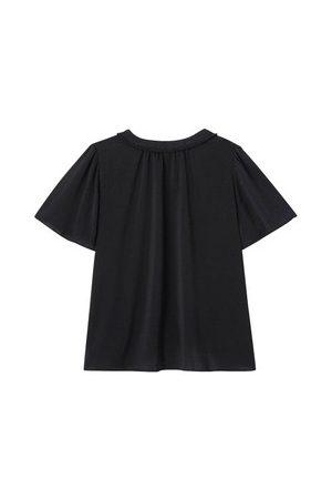 Promod Damen Blusen - Bluse mit Schmetterlingsärmeln