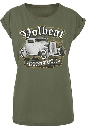 Volbeat Damen T-Shirts, Polos & Longsleeves - Rock'N'Roll T-Shirt oliv