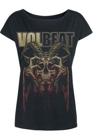 Volbeat Bleeding Crown Skull T-Shirt