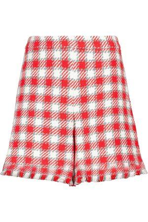 Oscar de la Renta Shorts aus Tweed