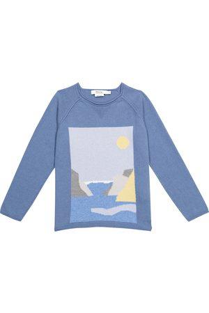 BONPOINT Jungen Strickpullover - Pullover aus Kaschmir und Baumwolle