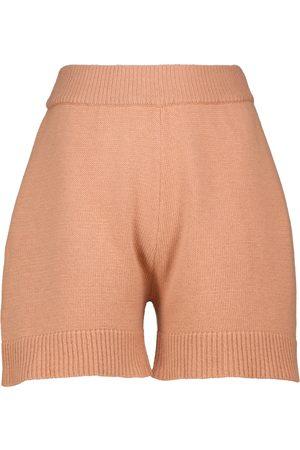 Frankie Shop Damen Shorts - Shorts Juno mit Wollanteil