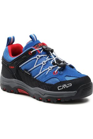 CMP Kids Rigel Low Trekking Shoe Wp 3Q54554 Cobalto/Stone/Fire 04NG