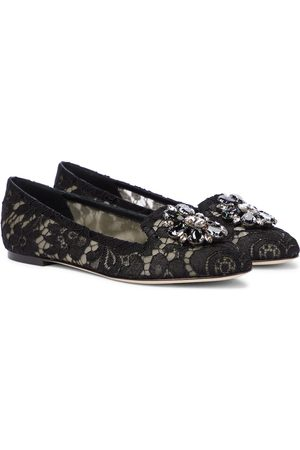 Dolce & Gabbana Verzierte Ballerinas Vally aus Spitze