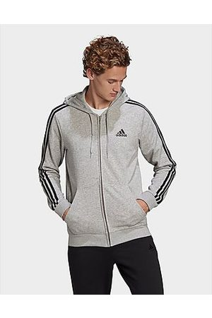 adidas Essentials French Terry 3-Streifen Kapuzenjacke - / - Herren, /