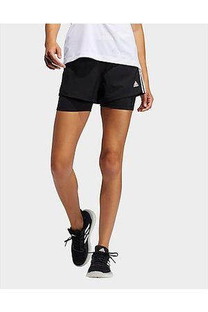 Adidas Pacer 3-Streifen Woven Two-in-One Shorts - / - Damen, /