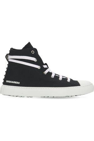 "DSQUARED2 20mm Hohe Sneakersaus Baumwollcanvas ""san Diego"""