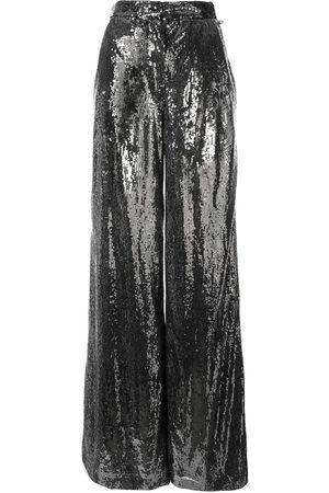 INGIE Damen Weite Hosen - Weite Hose mit Pailletten