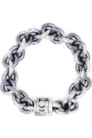 Le Gramme 119g vintage entrelacs bracelet