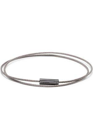 Le Gramme 11g polished triple cable bracelet
