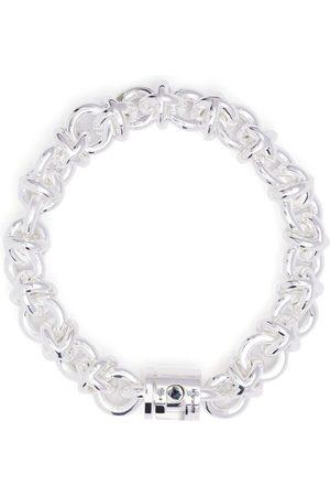 Le Gramme Armbänder - 87g polished entrelacs bracelet