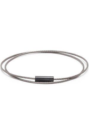 Le Gramme Armbänder - 11g brushed triple cable bracelet