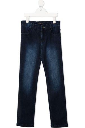 HUGO BOSS Halbhohe Slim-Fit-Jeans