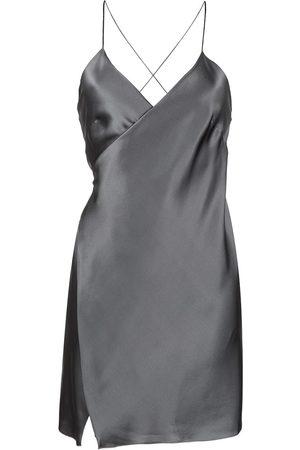 Michelle Mason Damen Freizeitkleider - Seidenkleid in Wickeloptik