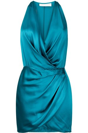 Michelle Mason Neckholder-Kleid aus Seide