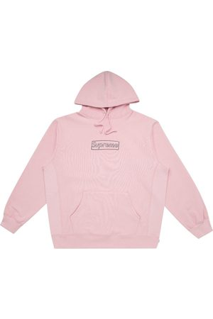 Supreme Herren Sweatshirts - Kaws Chalk Hoodie mit Logo