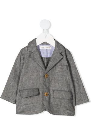 Zhoe & Tobiah Blazer & Sakkos - Single-breasted textured blazer