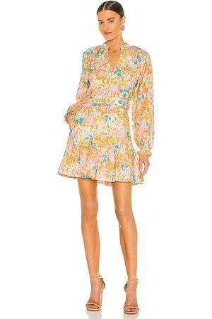 Rebecca Vallance Damen Kleider - Ottoman Long Sleeve Mini Dress in ,Pink. Size 8/S, 6/XS, 12/L.