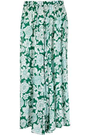 CHRISTIAN WIJNANTS Damen Bedruckte Röcke - Minirock mit Blumen-Print
