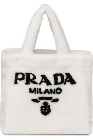 Prada Shopper mit Shearling
