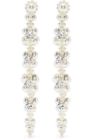 Simone Rocha Damen Ohrringe - Ohrringe mit Kunstperle