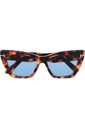 Tom Ford Damen Sonnenbrillen - Sonnenbrille im Butterfly-Design