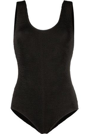 Bottega Veneta Badeanzug mit offenem Rücken
