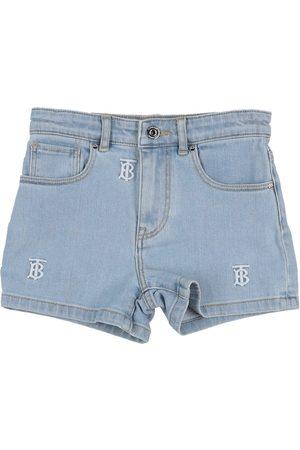 BURBERRY Mädchen Shorts - DENIM - Jeansshorts