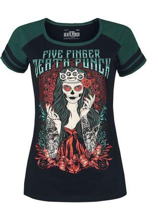 Five Finger Death Punch Damen T-Shirts, Polos & Longsleeves - EMP Signature Collection T-Shirt /petrol
