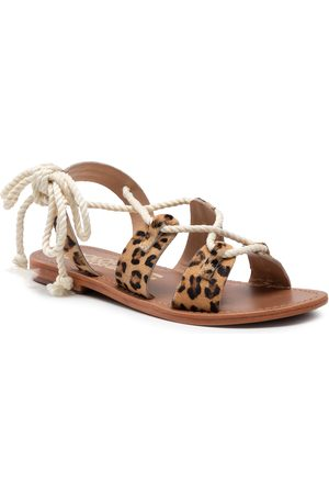 Colors of California Damen Sandalen - HC.GREEK02 Leopard