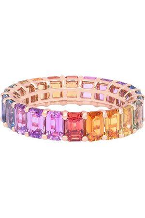 DJULA Damen Ringe - Ring - Rainbow mit Saphiren