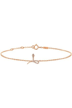 DJULA Damen Armbänder - Kettenarmband - Schlange mit Diamanten