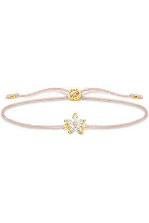 Thomas Sabo Damen Armbänder - Armband Blume weiße Steine