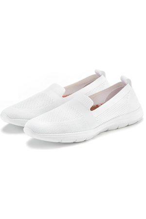 Lascana Damen Halbschuhe - Slipper ultraleichter Sneaker mit softer herausnehmbarer Wechsel- Innensohle