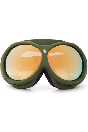 Moncler Damen Skiaccessoires - Logo-jacquard Strap Camouflage Ski Goggles