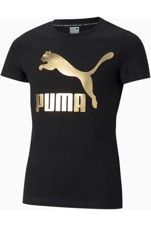 PUMA T-Shirts, Polos & Longsleeves - Classics Logo Jugend T-Shirt Für Kinder
