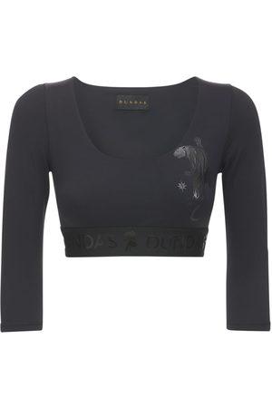Dundas Langarm-shirt Aus Lycra Mit Logodetails