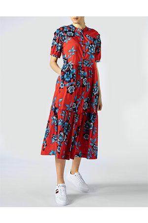 Tommy Hilfiger Damen Maxikleider - Damen Kleid WW0WW30337/0KV
