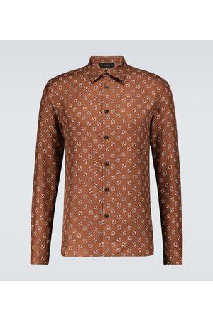 AMIRI Bedrucktes Hemd aus Seide
