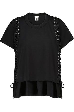 NOIR KEI NINOMIYA Verziertes T-Shirt aus Baumwolle