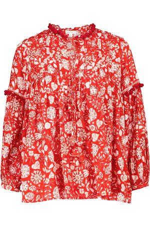 POUPETTE ST BARTH Damen Blusen - Exklusiv bei Mytheresa – Bedruckte Bluse Clara